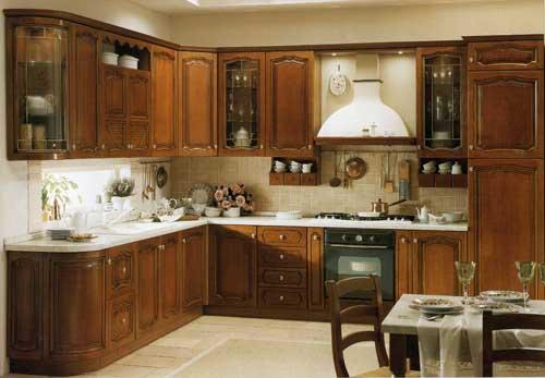Кухня Arabella с фасадами оригинального фрезирования