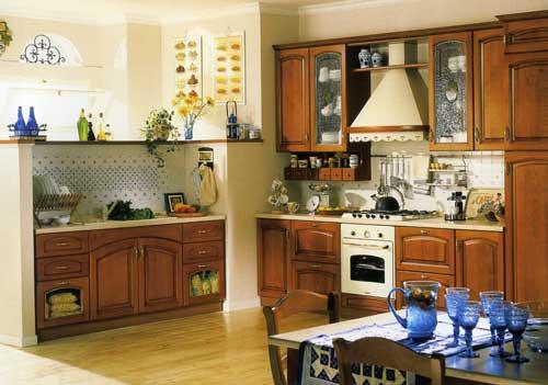 Кухня Nadia с натуральными липовыми фасадами